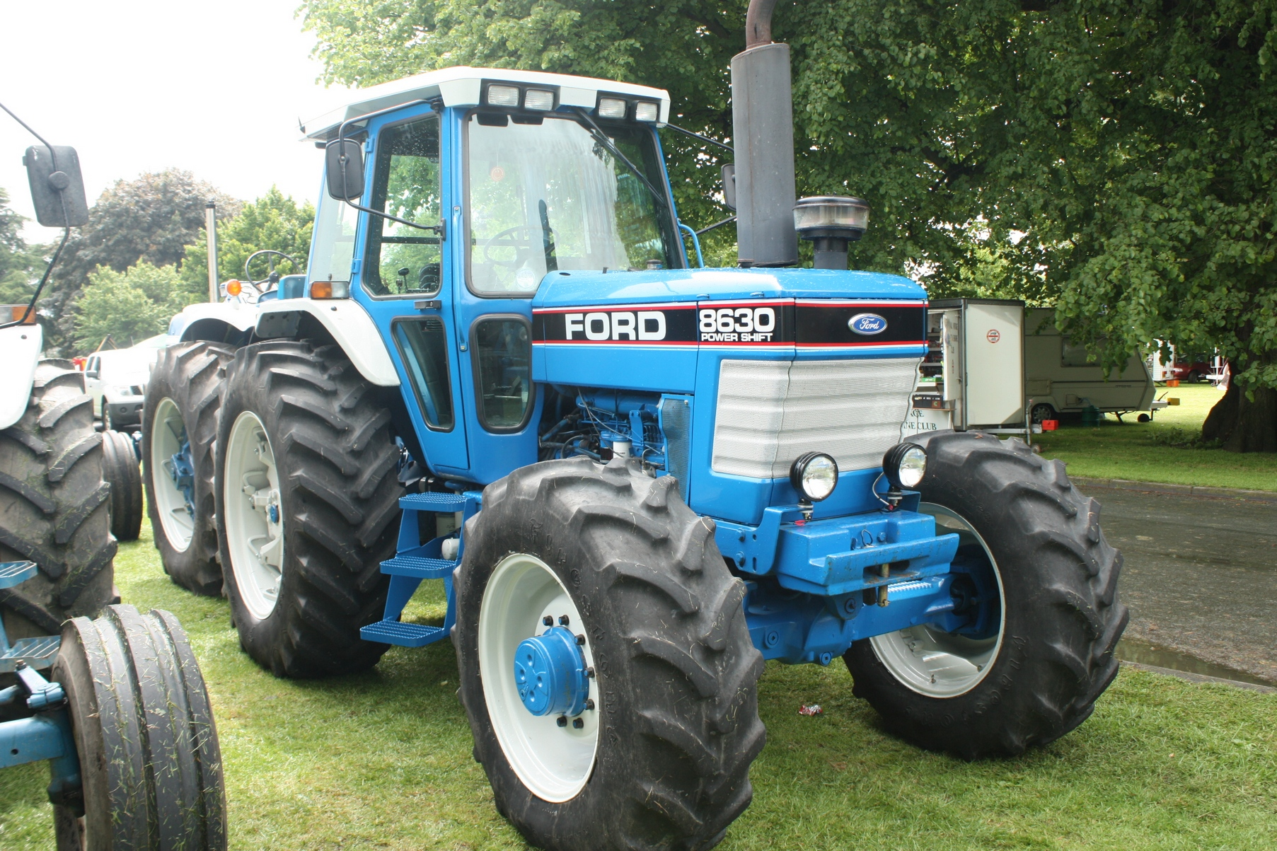 ford county tractor history